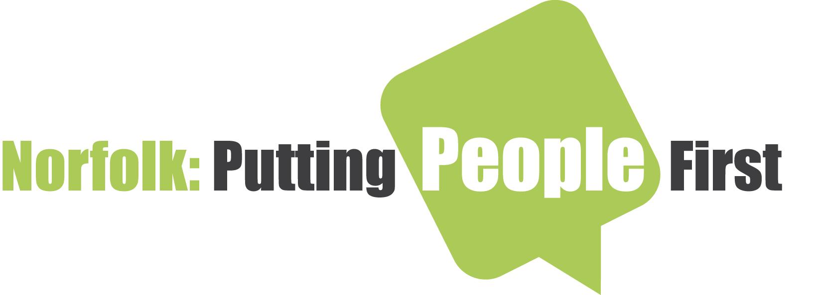 Norfolk Putting People First logo