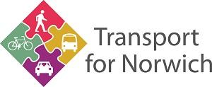 Transport for Norwich logo