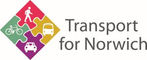 Transport for Norwich logo